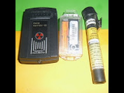 Ndt Technician Rt The Power Of Film Badge Alarm Monitorpen