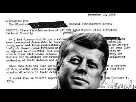 John F. Kennedy (JFK) Requested CIA UFO Files 10 Days Before Assassination - FindingUFO