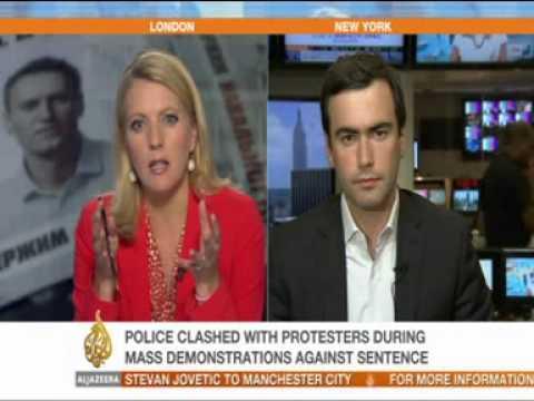 Al Jazeera Interviews Pavel Khodorkovsky on Navalny Verdict