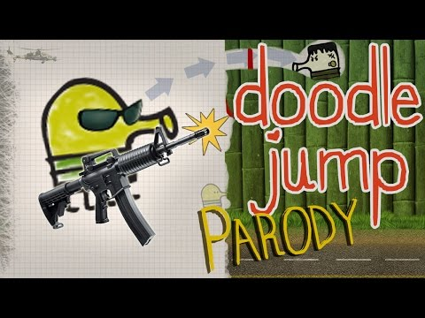 Doodle Jump game parody