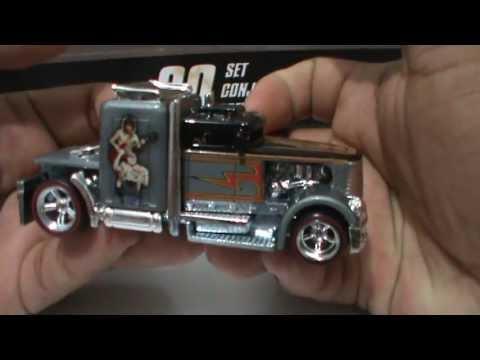 Hot Wheels Pop Culture AC Dc Convoy Custom Truck W// Real Riders
