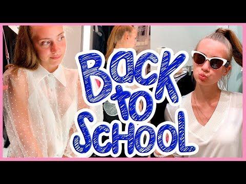 Back To School 2019 Шопинг / ВЫБИРАЮ и ПОКУПАЮ ОДЕЖДУ К ШКОЛЕ + СОЗДАЕМ НОВЫЕ ТРЕНДЫ😱