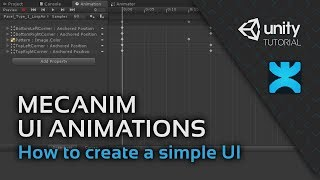 Mecanim UI Animations - How to create a simple UI in Unity - 10 - DoozyUI Video Tutorial