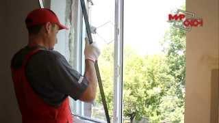 видео Замена пластикового окна