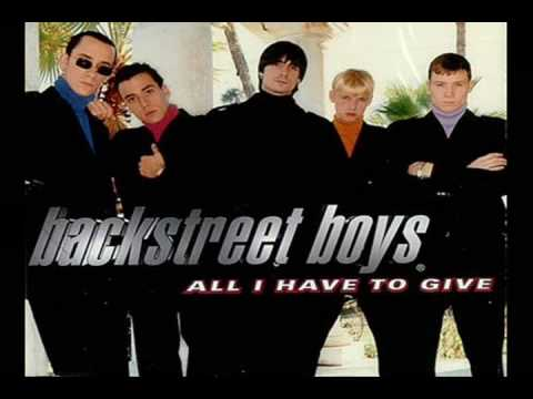 BACKSTREET BOYS - ALL HAVE TO GIVE LYRICS