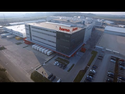 Hama logistics centre Germany, Monheim (BAY)