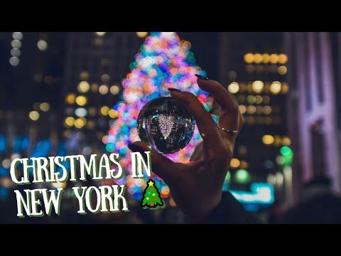 CHRISTMAS IN ROCKEFELLER CENTER, NEW YORK [ 🎄 Tree Lighting ]