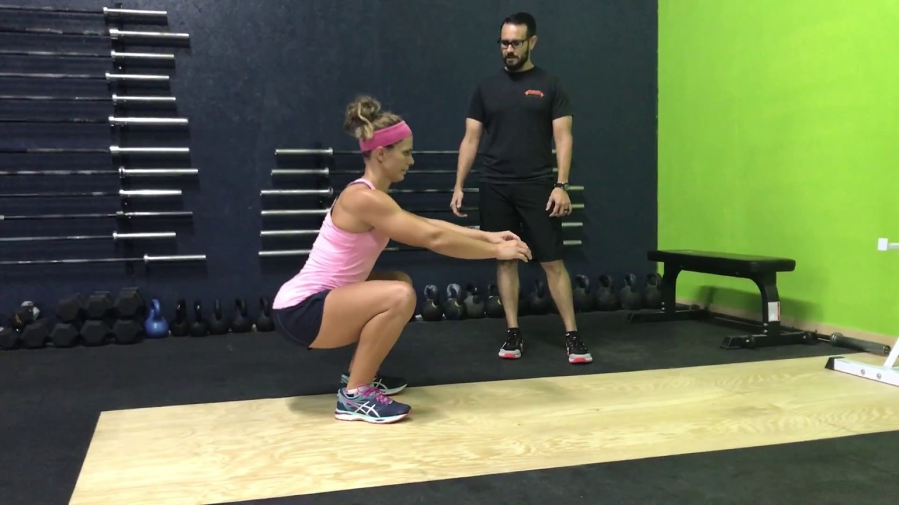 Squat Form Video 1 - YouTube