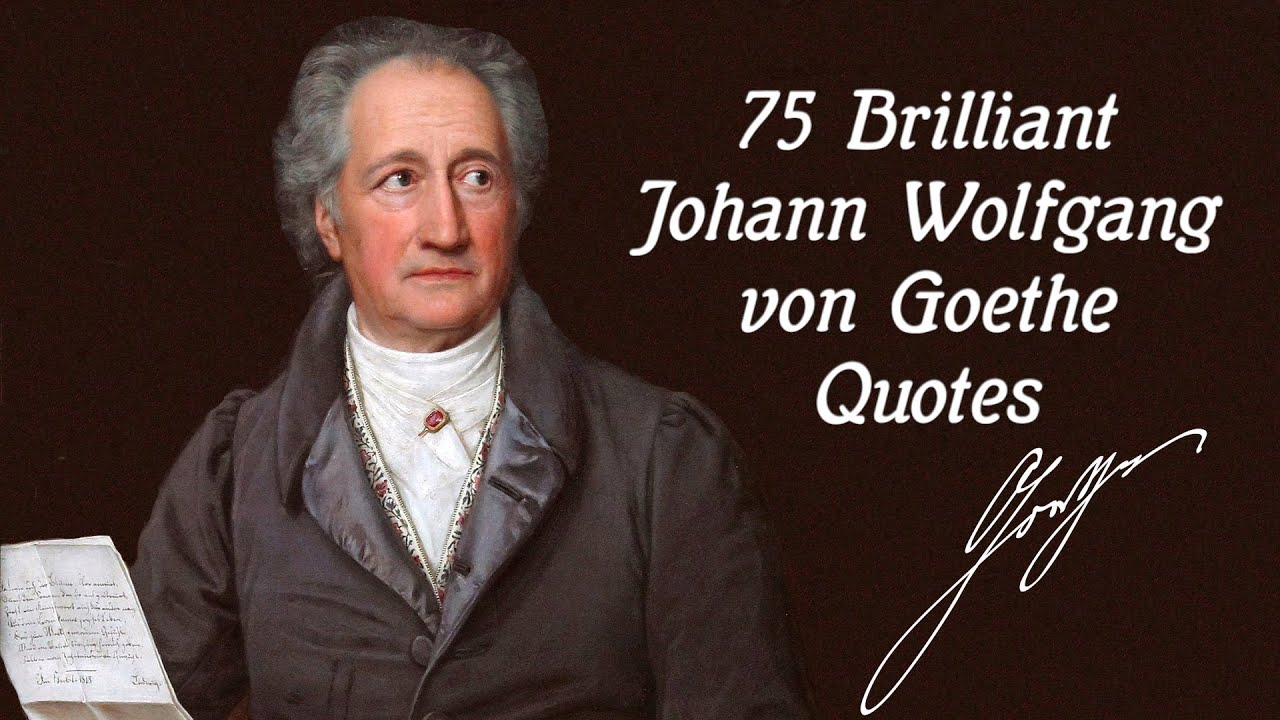 Johann Wolfgang von Goethe: biography, photos, works, quotes