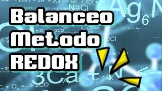 Balanceo químico Método REDOX resuelto ejemplo 2   Química