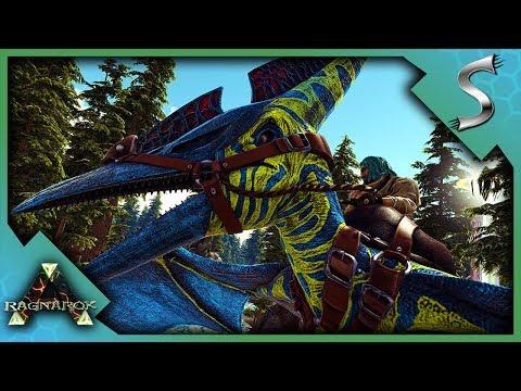 BLELLOW THE PTERA! PTERANODON TAMING ADVENTURE! - Ark: RAGNAROK [DLC Gameplay S3E35]
