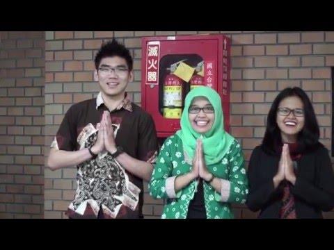 Cultural Art Performances Indonesian Culture Exhibition 2016 NTUST