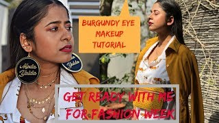 Foxy In Grwm Fashion Week Edition Burgundy Eyeshadow For Brown Girls 5 Products Only Moda Yalda On Foxy How to wear ideas for loubi under red and fluff yeah fur slides. foxy