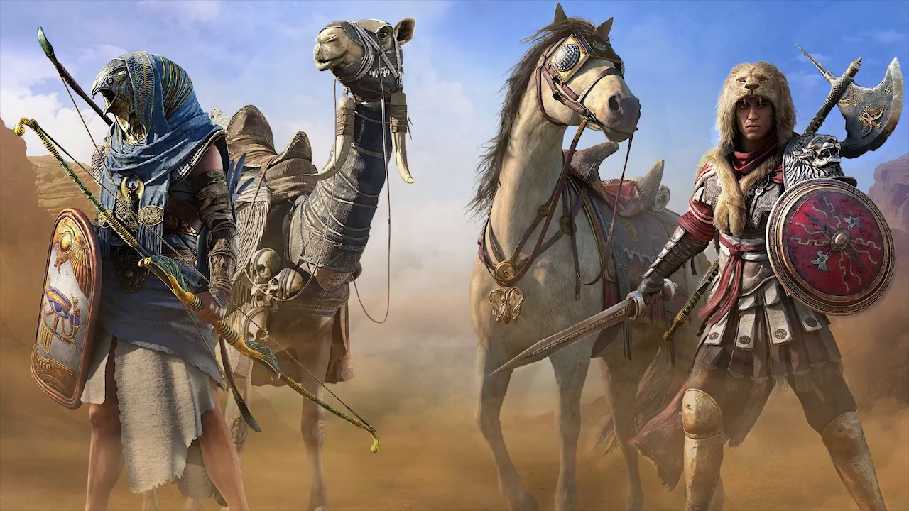 Gaming Pc Assassins Creed Origins Uhd 4k Wallpapers