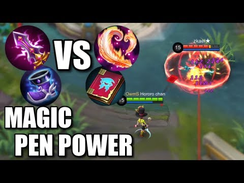 MAGIC PENETRATION VS MAGIC POWER?