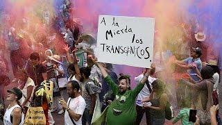 مظاهرات منددة بشركة مونسانتو الأميركية العالمية المنتجة للبذور المعدلة وراثيا  24-5-2015