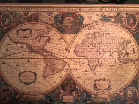 Antique World Map Puzzle 5000 Pieces