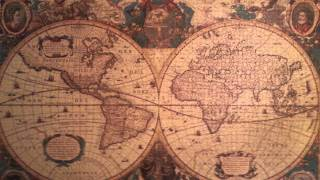 Antique World Map Puzzle 5000 Pieces