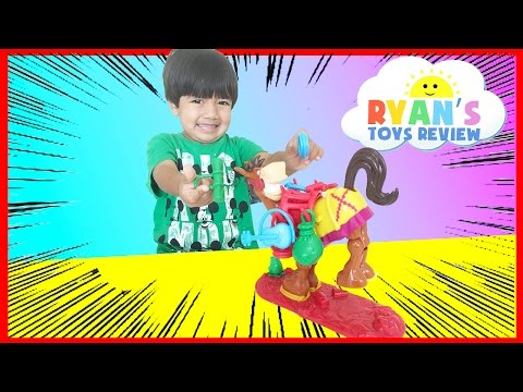 Family Fun Game Night Buckaroo Elefun & Friends Toys For Kids Egg Surprise Toy Ryan ToysReview