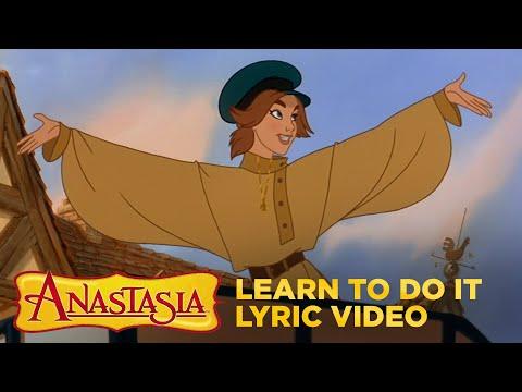 """Anastasia   """"Learn To Do It"""" Lyric Video   Fox Family Entertainment"""