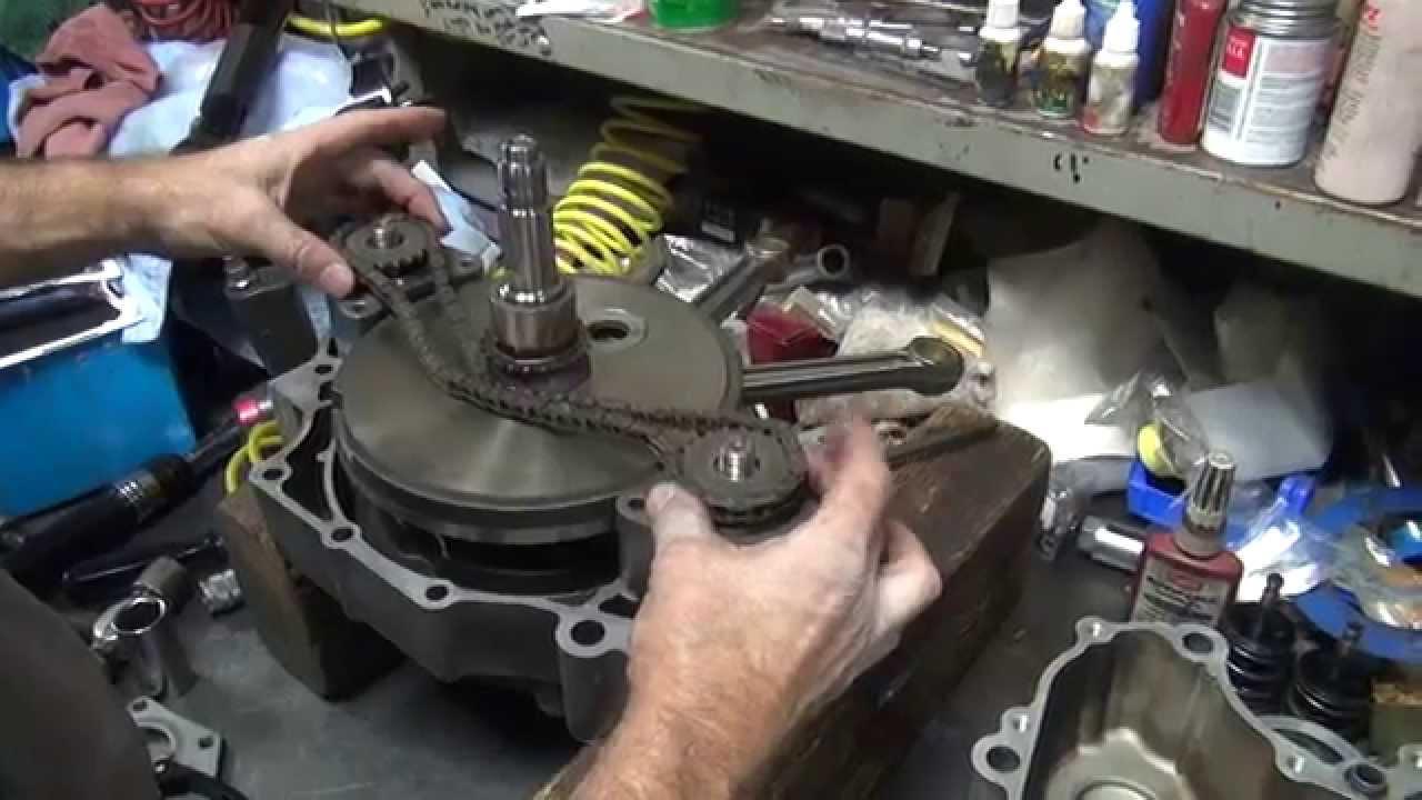"2003-06 Twincam B"" #110 lower-end motor rebuild Harley Softail FXST FLST flywheel crankshaft"