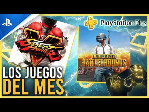 PROBAMOS los JUEGOS del MES de SEPTIEMBRE PS PLUS - Playerunknown´s Battlegrounds y Street Fighter V