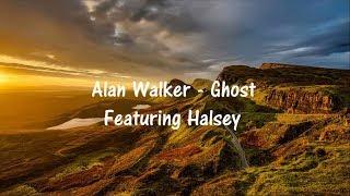 Alan Walker ft. Halsey - Ghost  (Lyric Video) - Mashup