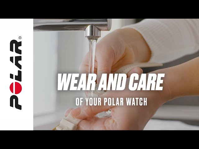 Polar Support | Wear and care of your device