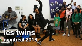 Les Twins Montreal workshop AP  Larry freestyles to ShashU