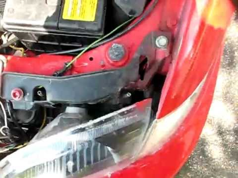 Cavalier Headlight Replacement