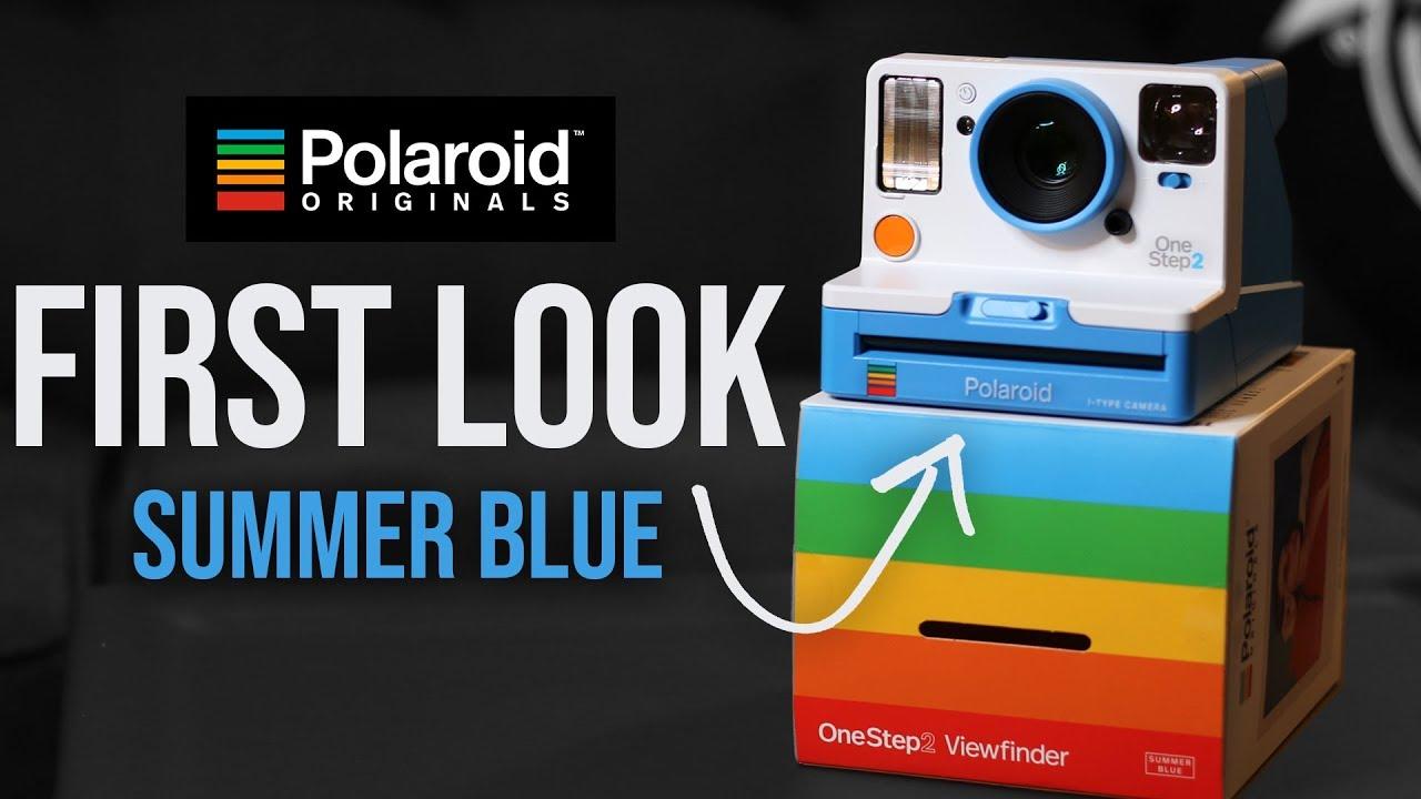 bf9a87d8c6 Polaroid OneStep 2   Summer Blue   New Color - YouTube