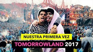 NUESTRA PRIMERA VEZ EN TOMORROWLAND - The Tripletz Vlog