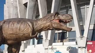 Динозавры в городе!  Фильм деткам!
