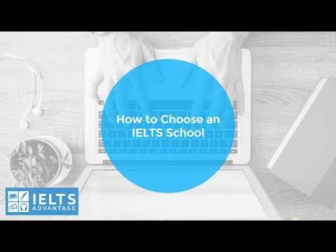 How to Choose an IELTS School