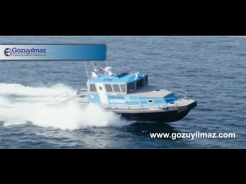 Gözüyılmaz Engineering & Marine Industries - HDPE PATROL BOAT (GM P/H -1400)