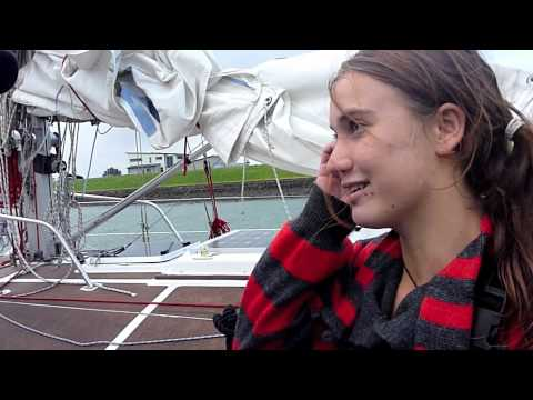 Interview with Laura Dekker Arriving in New Zealand