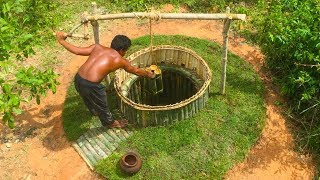 search groundwater in the forest (wells Bamboo)