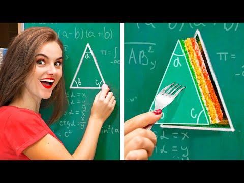 Как пронести еду в колледж / Смешные трюки с едой