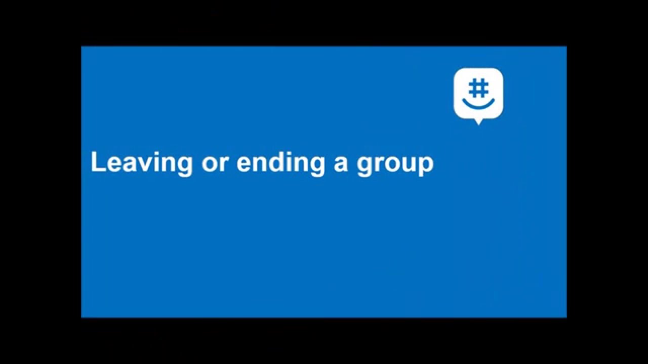 How to delete a group on groupme