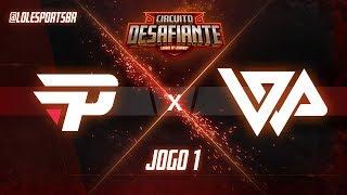 Circuitão 2018: paiN Gaming x WP Gaming (Jogo 1) | Fase de Pontos - 2ª Etapa