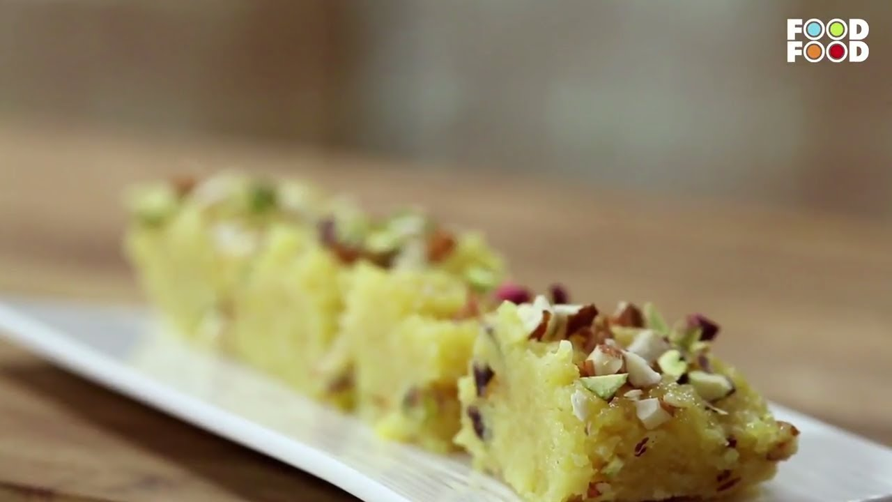 how to make coconut burfi by sanjeev kapoor