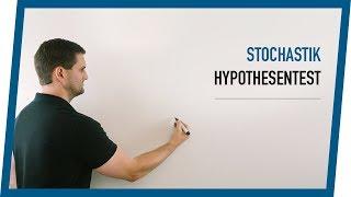 Hypothesentest Beispiel mit Schaubild | Mathe by Daniel Jung
