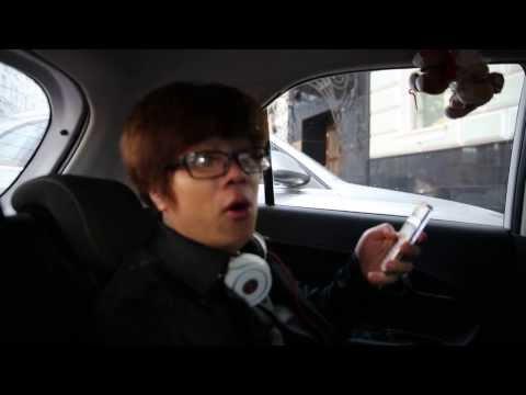Bùi Anh Tuấn hát live trong xe ô tô tại Nga... quá hay