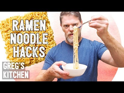 Ramen Noodle Hacks - Greg's Kitchen