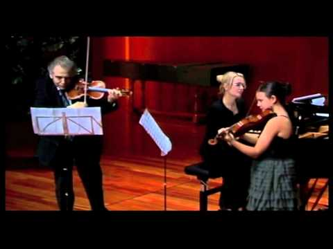 Inés Issel plays Divertimento for two violins by I.Frolov