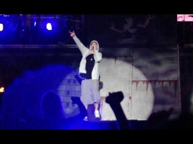 Eminem - The Real Slim Shady - Bellahouston Park Glasgow, Summer Sessions - 20.08.2013 HD