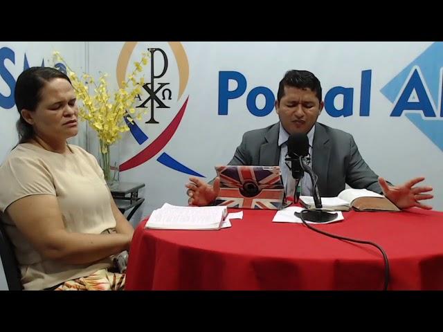 Programa MISSÃO DA ÚLTIMA HORA - Pb. Gutemberg - 26/10/20