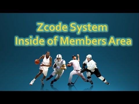 Zcode System | How does it work? Inside of members area of Zcode System