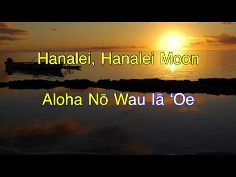 Hanalei Moon (Karaoke)