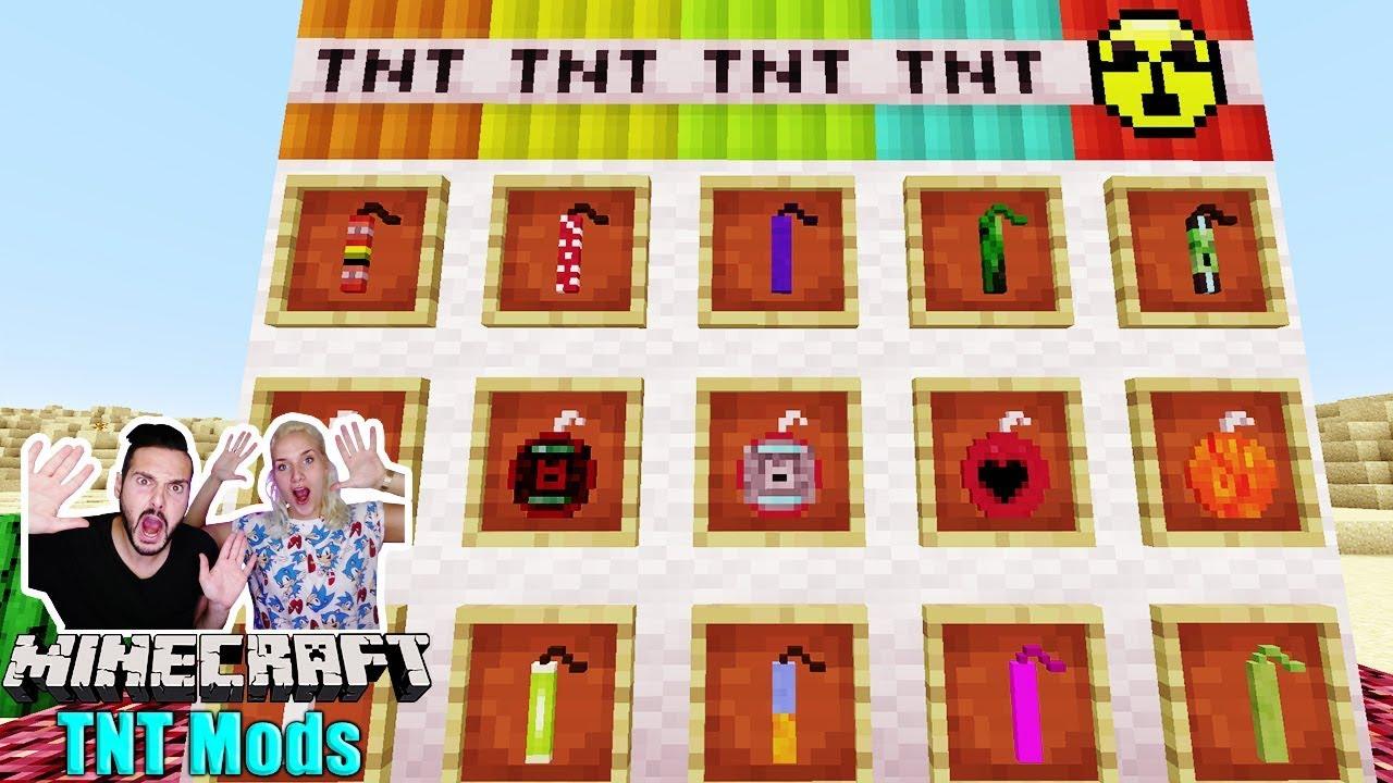 NINA KAAN IM EVEN MORE EXPLOSIVES FUN TNT MOD BEI MINECRAFT - Minecraft creeper spielen